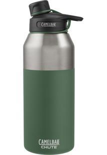 Garrafa Térmica Camelbak 1,2L Chute Vacuum Insulated Stainless Verde
