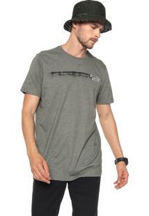 Camiseta Volcom Courtesy Cinza