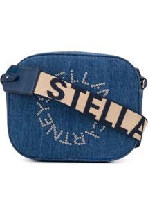 Stella Mccartney Bolsa Estruturada Stella Logo Mini - Azul