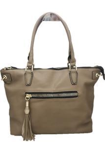 Bolsa Importada Casual Transversal Sys Fashion 2733 Caqui