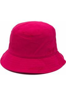 We11Done Bolsa Bucket Com Placa De Logo - Rosa