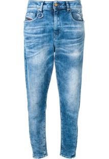 b7710e702 R$ 2610,00. Farfetch Diesel Calça Jeans Cropped - Azul