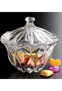 Fruteira Cristal Louise 24,5Cm Diam X 14,3Cm Alt. - Unissex
