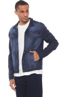 Jaqueta Calvin Klein Jeans Bicolor Azul/Preta