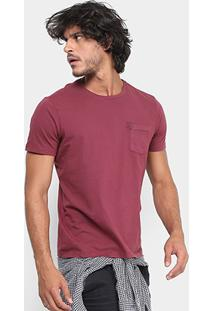 Camiseta Ellus Estonada Bolso Masculina - Masculino