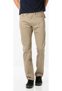 Calça Jeans Levi'S 505 Regular Masculina - Masculino-Bege