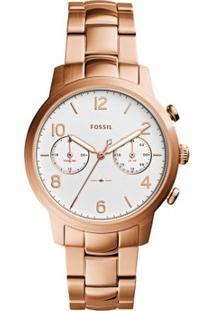 Relógio Fossil Feminino Caiden - Es4237/4Bn Es4237/4Bn - Feminino-Rose Gold