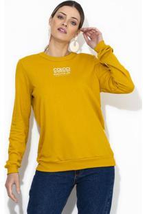 Blusão Moletom Amarelo