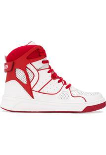Balmain Keith High-Top Sneakers - Branco