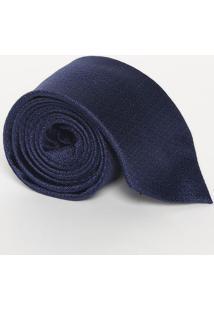 Gravata Poás Em Seda - Azul - 10X148Cmcalvin Klein