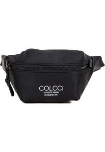 Pochete Colcci Nylon Authentic Brand - Feminino-Preto