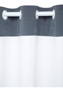 Cortina Para Cozinha B-On Paris 150X260Cm Branca
