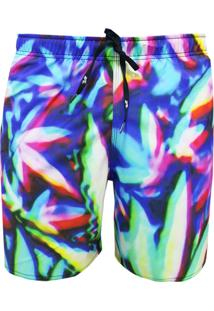 Shorts Elástico Alkary Multicolorido