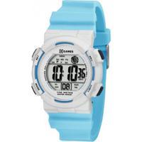9807293860d Relógio Masculino X-Games Esportivo Xkppd023 - Unissex-Azul Claro