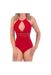 Body Sensual Rendado Em Microfibra Dy Any .