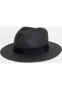 Chapéu Masculino Em Palha