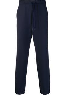 Kenzo Calça Esportiva Com Cordão De Ajuste - Azul