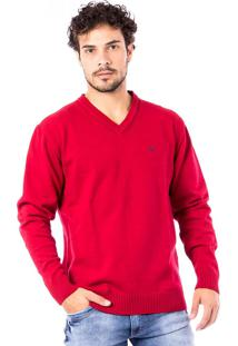 Blusa Tricot Carlan Basic Traditional Brand Decote V