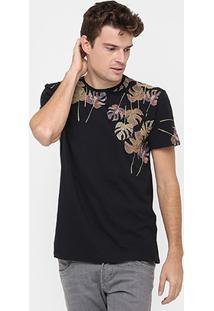 Camiseta Reserva Floral Rapp Colors - Masculino