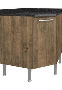 Balcão De Cozinha Para Canto 75 Cm 1 Porta 0879 Demolição - Genialflex