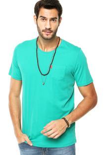 Camiseta Redley Bolso Verde