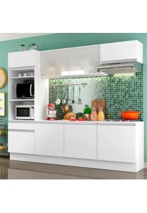 Cozinha Completa Smart Linea 8 Pt 1 Gv Branco