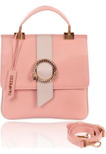Bolsa Quadrada Campezzo Rosa - Tricae