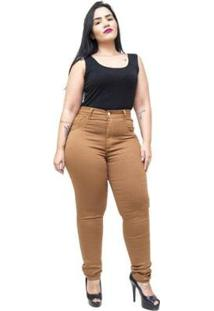 Calça Jeans Latitude Plus Size Skinny Geruzia Feminina - Feminino
