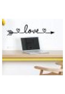 Adesivo De Parede Flecha Love - G 40X166Cm