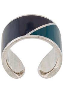 Lanvin Anel Color-Block - Azul