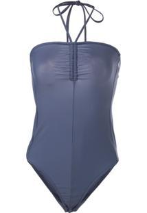 Tibi Body Frente Única - Azul
