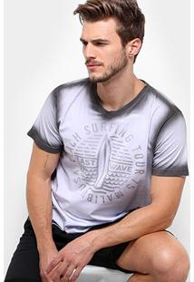 Camiseta Mood Beach Surfing Masculina - Masculino