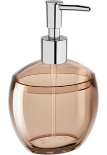 Porta Sabonete Líquido/Álcool Gel Spoom 300Ml 10,6X8,5X17,2Cm Rosa Blush - 20860/0467 - Coza - Coza