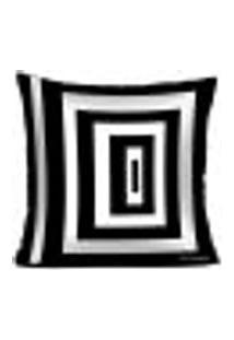 Capa Para Almofada Black And White - Baw2