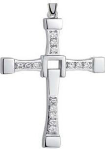 Pingente Crucifixo Vanglore 260303 Prata