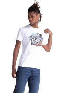 Camiseta Levis Set In Neck 2 Masculina - Masculino-Branco