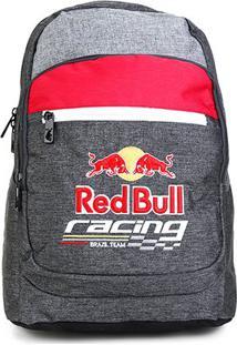 Mochila Red Bull Fastness Masculina - Masculino-Chumbo