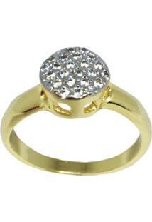 Anel Chuveirinho Pequeno Folheado Em Ouro 18K - Feminino-Dourado