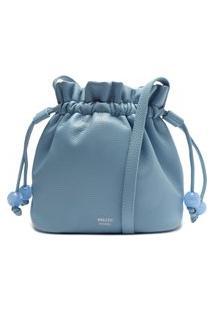 Bolsa Bucket Azul Média   Arezzo