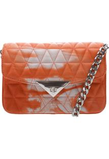 Mini Crossbody Bag Matelassê 944 Tie- Dye Orange   Schutz