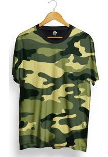 Camiseta Bsc Full Print Green Camo - Masculino
