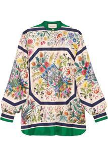 3928a860c8 Camisa Gucci feminina. Gucci Camisa Com Estampa Floral ...