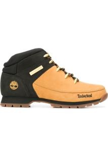 Timberland Two-Tone Ankle Boots - Marrom
