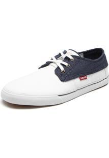 Sapatênis Levis Fashion Branco/ Azul