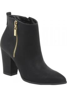Bota Feminina Via Marte Ankle Boot
