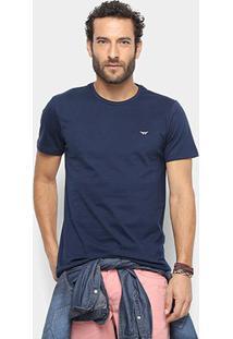 Camiseta All Free Básica Masculina - Masculino-Marinho