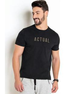 Camiseta Com Estampa Actual Animal Print
