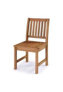 Cadeira Recanto Reta Stain Jatoba 44Cm - 60404 Sun House