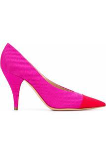 Casadei Scarpin Bicolor - Rosa