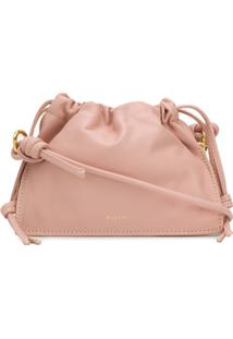 Yuzefi Drawstring Top Shoulder Bag - Rosa
